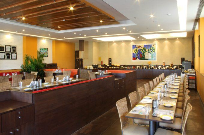 Citrus Café restaurant at Lemon Tree Hotel Electronic City Bangalore